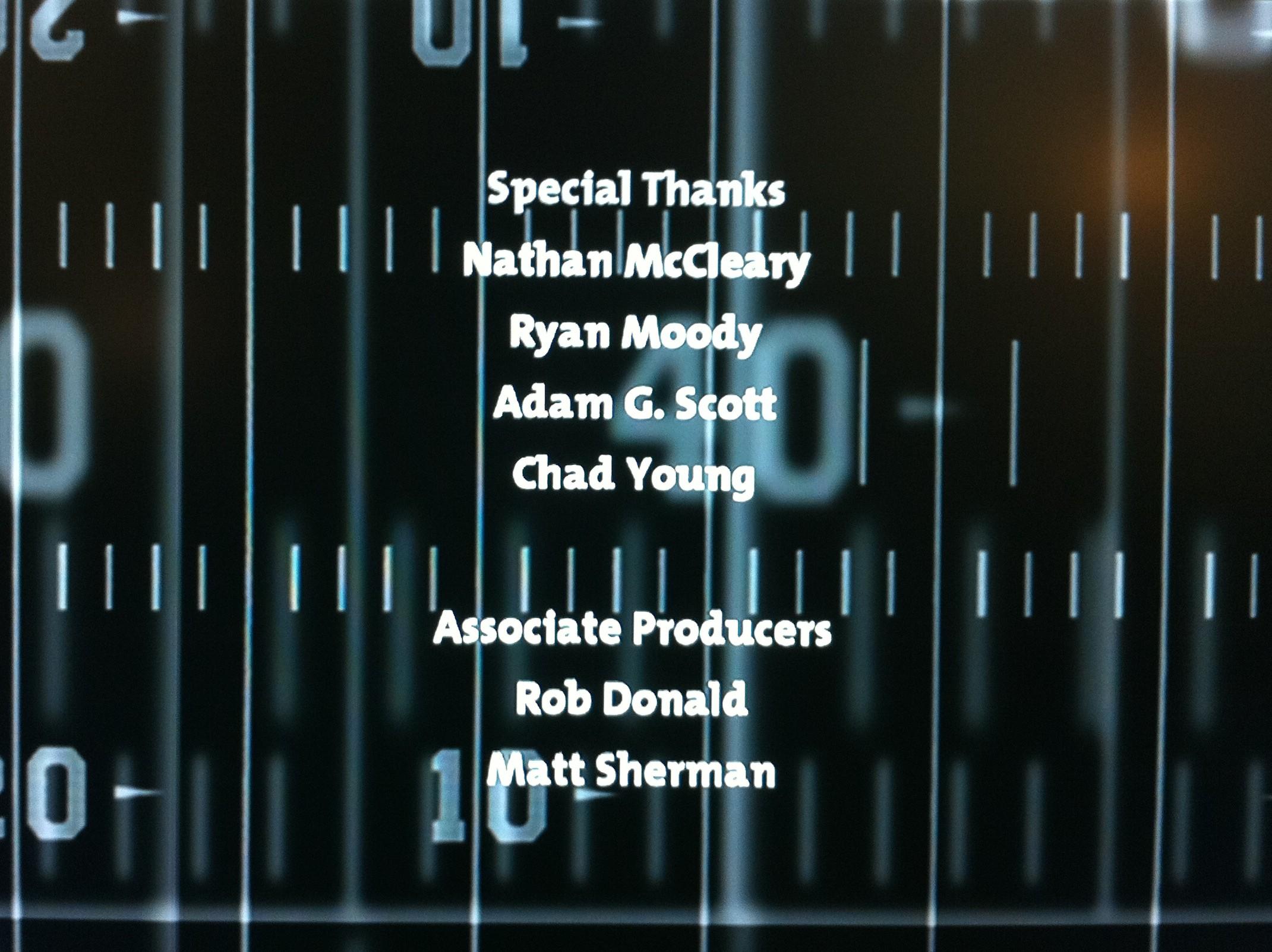 Backbreaker Credits