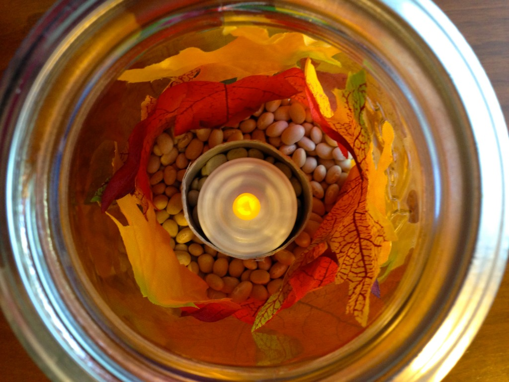 Leaf Lantern Interior
